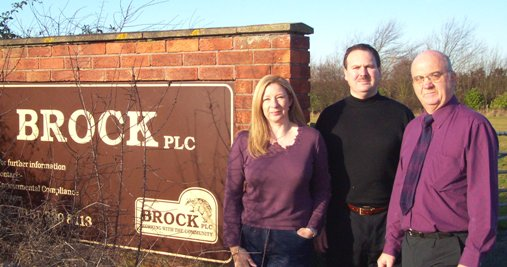 Suzanne, Simon and Me at the Brock Site