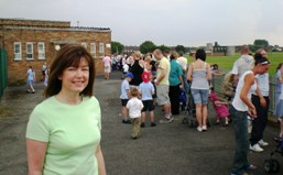 WEb LF at Lingham School 26 June 2009