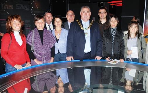 Web Mayor at Spaceport