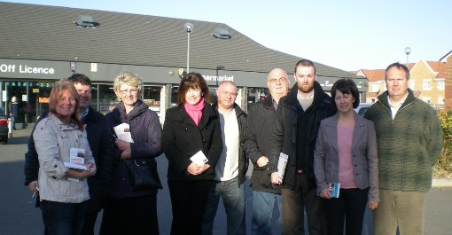 The Leasowe Team: Karen Hayes, Paul Hayes, Lesley Rennie, Leah Fraser, Steve Smith, Chris Blakeley, Ian Lewis, Marg Kalil, Simon Mountney (thanks to James Keeley for taking the pic)