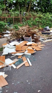 Fly Tipping Carr Lane
